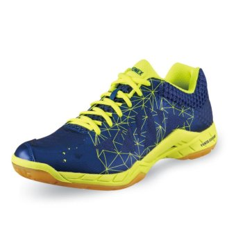 Men's Badminton Shoes High Quality Table Tennis Shoes Light Weight Indoor Sneakers Sport Shoes (Navy Blue) - intl