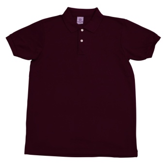 Men'S Level One Basics Polo Shirt (Maroon)