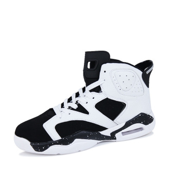 Men's Sport Fashion Basketball Shoes (black&white)(Export)