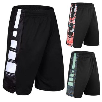 Men's Sports Shorts for Basketball Jogging Gym Cycling Fitness - intl
