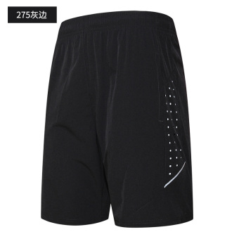 Men's summer running fitness shorts I shorts (275 gray side)