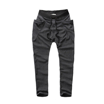 Mens Sweatpants Jogging Tracksuit Bottoms HIP HOP Jogger Sport Sweat Pants Dary Gray