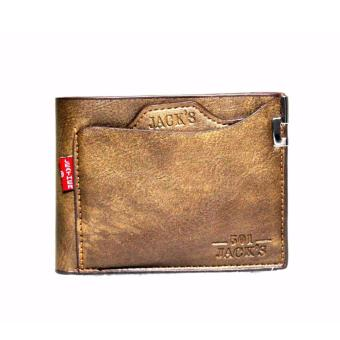 Men's Wallet Jac leather mustard