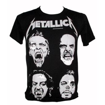 Metallica - James, Lars, Kirk, Robert T-shirt (nts) Price Philippines