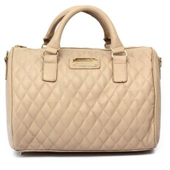 MNG Mango Quilted Bowling Bag (Cream) Price Philippines