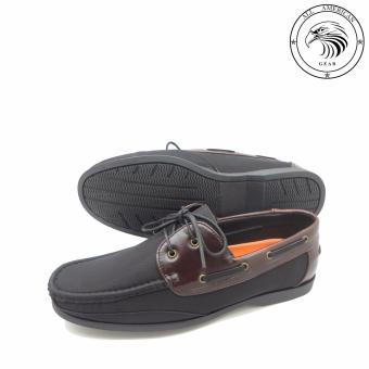 Monte Carlo Top Quality Casual Shoe JM-67 Black Amaretto