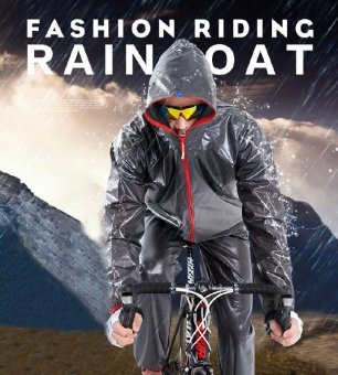Motorcyclist/Motorcycle Mountain Biking Outdoor Split Raincoat Rain Pants Suit Waterproof Sunscreen Poncho Riding Clothes - intl