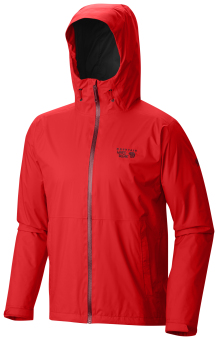 Mountain Hardwear Men's Finder Jacket with Dry.Q Core (Fiery Red)