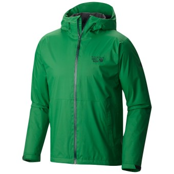 Mountain Hardwear Men's Finder Jacket with Dry.Q Core (Serpent Green)