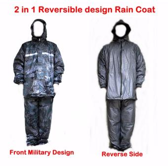 Multifunction Reversible Military Design Raincoat Price Philippines
