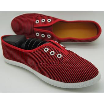Muse Kristy Slip-on Sneakers (Red)