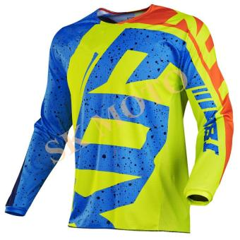 New Arrival HC Motocross Jersey Motorcycle Long Sleeve RacingT-Shirt Dirt Bike Cycling DH MX ATV Jerseys S-XXL( Yellow ) - intl