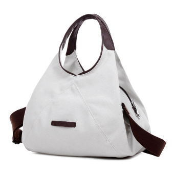 New style canvas shoulder bag (Off-white color)