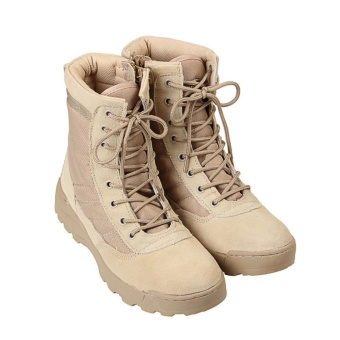 Tactical Army Mens Lace Up Shoes Sports Desert Ankle Boots Waterproof -Intl - intl