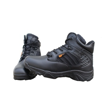 Tactical Desert Work Duty Army Mens Leather Combat Boots Military Shoes Soldier - intl
