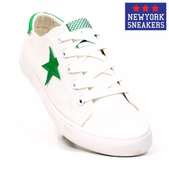 New York Sneakers Missy Low Cut Shoes(WHITE/GREEN) Price Philippines
