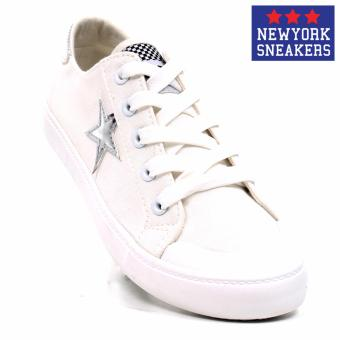 New York Sneakers Missy Low Cut Shoes(White/Silver) Price Philippines