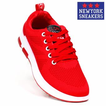 New York Sneakers Tony Rubber Shoes 6055(RED)