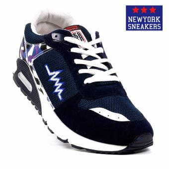 New York Sneakers Trent Rubber Shoes(NAVY)