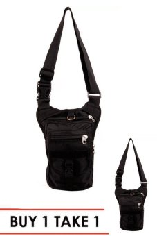 NICK Co Mens Boys 223 Sling Bag (Black) BUY 1 TAKE 1