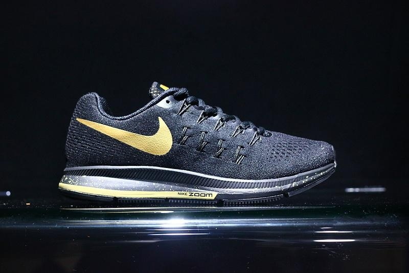 promo code 62a5e 53af9 ... shoes 3e9b4 ac243 nike air zoom pegasus 33 le bg mens running shoe black  germany classic nike air zoom pegasus 33 le mj multi color metallic gold ...