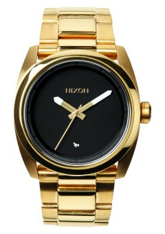 Nixon Kingpin Men's Gold-plated Stainless Steel Strap Watch A507-513