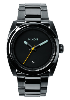 Nixon Kingpin Men's Gunmetal Stainless Steel Strap Watch A507-131