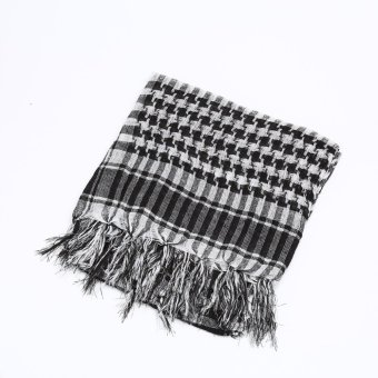 OEM Men's Neck Cover Head Keffiyeh Wrap Shemagh Arab Scarf Mask Scarves Polyester