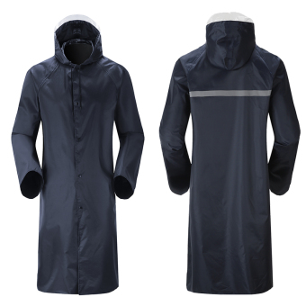 Oxford rain wind rain raincoat men's clothing safety raincoat adulthiking poncho - intl