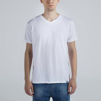 Penshoppe Semi Fit Tee (White)
