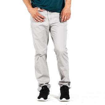 Penshoppe Slim Fit Trousers (Light Gray)