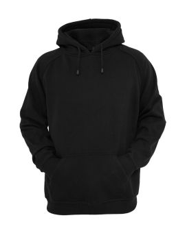 Plain Black Hoodie Jacket fleece