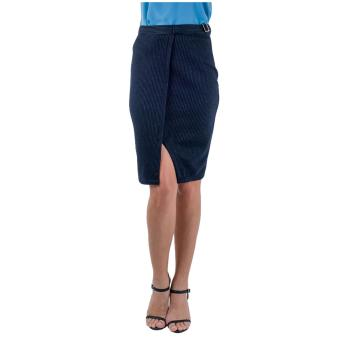 Plains & Prints Ishmael Skirt (Navy)