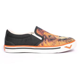 PONY WOMEN'S CANVAS - NEW SCHOOL (LION SKULL/BELUGA)
