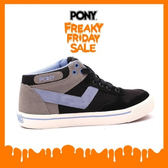 PONY WOMEN'S CLASSIC ARCHIVE - ATOP (BLACK/BEL AIR)