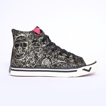 PONY WOMEN'S - SHOOTER HIGH (SKULL DOODLE/BLACK)