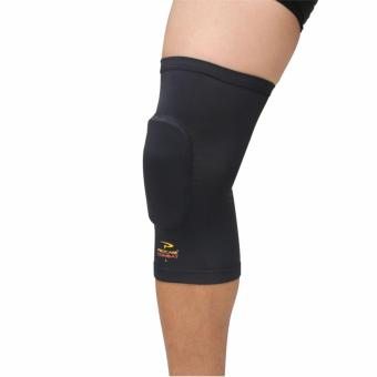 PROCARE COMBAT #CS36 Compression Padded Knee Sleeves with TopAnti-Slip 1pc (Black)