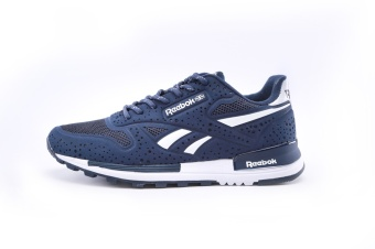 Reebok Mens Casual Shoes Sublite Super Duo Walking Shoes Men ReebokUltra-light Breathable Running Shoes (blue white) - intl