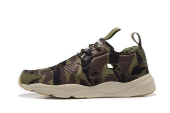 Reebok Mens Sports Shoes Reebok Furylite Running Shoes Jogging Shoes(camouflage green) - intl