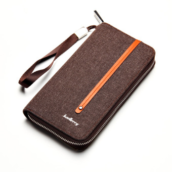 Retro youth large capacity wallet men's long wallet (PARK'S color)