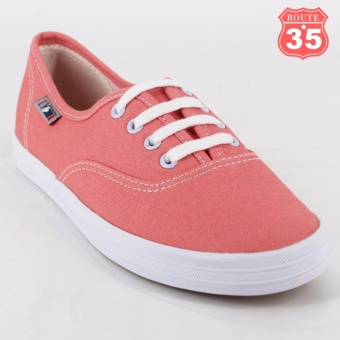 ROUTE35 Kendra Sneakers Rubber Shoes (Peach W-680)