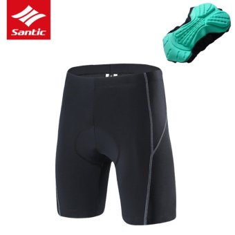 Santic Summer Men Women Pro Cycling Shorts 4D Breathable Cushion Moutain Road Bike Shorts Bicycle MTB Shorts - intl