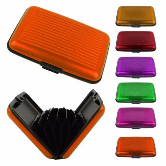 Security Credit Card Wallet (Orange)