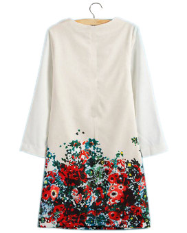 Sexy Women Summer Casual Floral Short Sleeve Party Evening Cocktail Mini Dress - Intl - intl