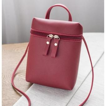 6b48c970c6 Best Offer New PU Leather Women Envelope Handbag Small Messenger Sling Bag  Mini Crossbody Bags for Girls Black Brown sac a main-in Shoulder Bags from …