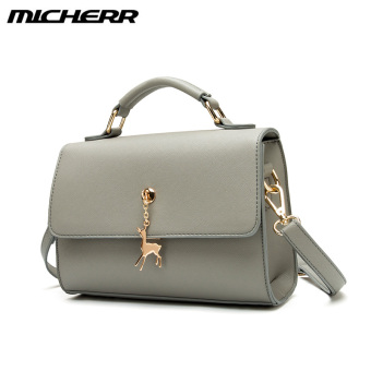 Small Square Jianyue shoulder handbag bag (Shishang gray)