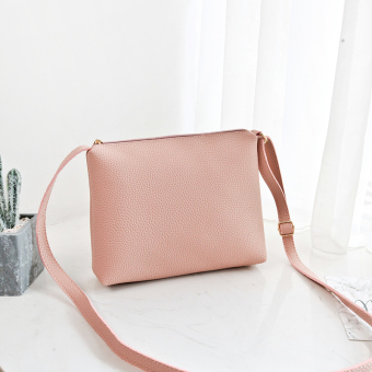 Small Square Shishang bag shoulder women's bag (Pink)