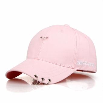Snapback Hats BTS Jimin Fashion K Pop Iron Ring Hats Adjustable Baseball Cap - intl