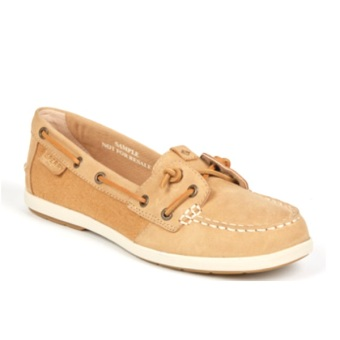 Sperry Women's Coil Ivy Leather/Canvas Boat Shoe (Tan) Price Philippines