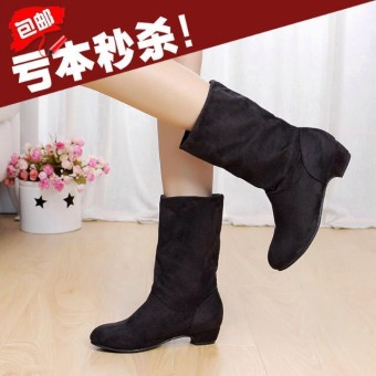 Spring New style thick with short boots